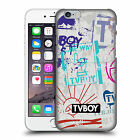 OFFICIAL TVBOY STENCIL ALL OVER HARD BACK CASE FOR APPLE iPHONE PHONES