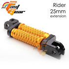 TFG 25mm CNC Adjustable Rider Foot Pegs For Yamaha Vmax 1700 09 10 11 12 13