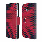 HEAD CASE DESIGNS HALFTONES LEATHER BOOK WALLET CASE COVER FOR HTC ONE MINI