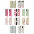 HEAD CASE DESIGNS FRENCH COUNTRY PATTERNS LEATHER BOOK CASE FOR HTC ONE M8 M8S