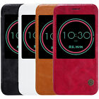 For HTC 10 Lifestyle Original Nillkin Slim View PU Leather Flip Case Smart Cover