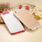 LED Flash Lighting Armor Case Clear Remind Incoming Call Cover Skin For iPhone J
