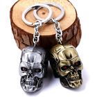 Movie Peripheral The Terminator Skull Heads Metal Keychain Key Ring Pendant Gift