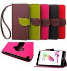 For LG G4 Stylus G Stylo H630 PU Leather Wallet Flip Soft TPU Cover Case Fashion