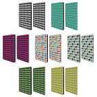 HEAD CASE DESIGNS HOUNDSTOOTH-PATTERNS LEATHER BOOK CASE FOR APPLE iPAD PRO 12.9