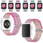 Sport Royal Woven Nylon Replacement Wrist Band Strap Classic Watchband For Apple