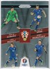 Panini Euro PRIZM 2016 'Country Combinations Quads' Insert Cards #1 to #16