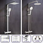 NIKI WRAS APPROVED THERMOSTATIC SHOWER MIXER SLIM TWIN HEAD ROUND OR SQUARE