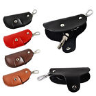 New Mens Women Leather Key Wallet Case Holder Purse Pouch Organiser Keyrings NW