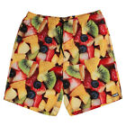 "Neff ""Fruit Salad"" Hot Tub Shorts (Multi) Men's Boardshort Swim Trunks"