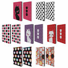 HEAD CASE DESIGNS CATS AND DOTS LEATHER BOOK WALLET CASE FOR APPLE iPAD PRO 12.9