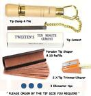 PERADON CUE TIP TOOL KIT PLUS. EVERYTHING REQUIRED FOR TIPPING YOUR CUE.UK STOCK £24.98 GBP on eBay