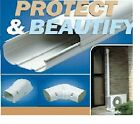 Line-Hide Ductless Heat Pump Lineset Covering - Free Shipping