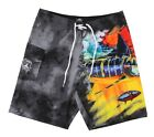 Guy Harvey Mens Mad Tropix Boardshorts