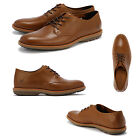 MENS TIMBERLAND 9224B KEMPTON OX RED BROWN LEATHER SMART LACE UP SHOES SIZE