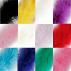 Marabou Swandown Feather Trim Soft & Fluffy Craft - Choose Quantity / Colour