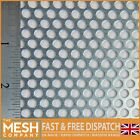 5mm Hole - 8mm Pitch - 1mm Thickness - Mild Steel-Perforated Mesh -MEGA LISTING