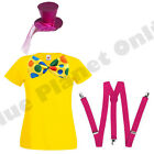 LADIES WOMENS FEMALE CLOWN LADY CIRCUS FANCY DRESS COSTUME 8-18