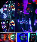 UV Glow Neon Face & Body Paint - 20ml NEON SET of 1-Fluorescent & Super Bright J