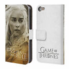 HBO GAME OF THRONES CHARACTER LEATHER BOOK WALLET CASE FOR APPLE iPOD TOUCH MP3