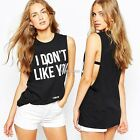 Fashion Women Summer Loose Top sleeveless Blouse Ladies Casual Tops T-Shirt N98B