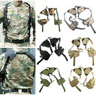 Adjustable Military Pistol Shoulder Holster Tactical Gun Holster Magazine Pouch