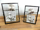 Metal & Glass Photo Frame Vintage Antique Style Picture Shabby Chic - 4x6, 5x7