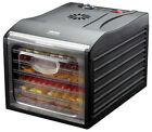Food Dehydrator 6 Tray Preserve Fruit Slices Vegetables Homemade Dried Meat NEW