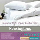 400 T/C Hungarian Goose Feather Hotel Quality Luxury 2 x Pillow 1200G