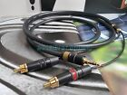 Aux Audio 3.5mm Stereo Male to 2 RCA Y CABLE FOR IPOD MP3 japan made copper wire