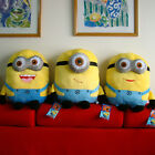 "Despicable Me Plush Cushion Pillow 17"" Yellow Minion Lovely Stuffed Animal Doll"