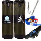 New MMA Boxing Fighting Heavy Punching Training Bag(Empty) with Four Parts Set