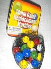 30 Pc -14 mm Game replacement Marbles Chinese Checker Aggravation