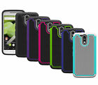 For Motorola Moto G (4th Generation) Case Hybrid Armor Protective Phone Cover