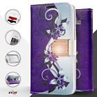 Purplevine Graphic Wallet ID Credit Card Cover Phone Case Samsung Galaxy S7 Edge