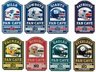 "NFL Team Wood Sign 11"" x 17"" Cave / Bar on eBay"