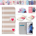 Pattern PU Leather Folio Flip Case Cover Skin Wallet Pouch For Various Cellphone