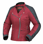 DriRider Womens Cruise Textile Jacket - Cherry Red