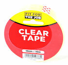 "Quality Clear Tape ""Sellotape"" 18mm x 50m Roll Fit For The Job"
