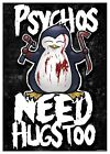 Psycho Penguin Psychos Need Hugs Too Mini Poster 32x44cm