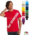 Top Valueweight T-Shirt 5 Stück SPAR PACK Gr.S,M,L,XL,XXL in 27 Farben F140Set
