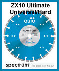 ZX10 AUTO - Ultimate Universal/Hard Products - Spectrum Diamond Cutting Blade
