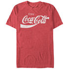 Enjoy Coca-Cola Eighties Coke Adult Heather T-Shirt -Official Coke Carbonated T $19.89  on eBay