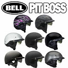 (Ships within 1 day) Bell Pit Boss Motorcycle Half Helmet