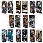 OFFICIAL AC/DC ACDC COLLAGE LEATHER BOOK WALLET CASE COVER FOR SAMSUNG PHONES 1