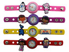Kids DIY Watch + 8 Doc Mcstuffins Charms  Party Christmas Gift