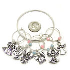 Wine Glass Charms, Drink Markers / Charms - Set Of 6