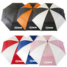 PRO-TEKT DOUBLE CANOPY UMBRELLA - NEW WINDPROOF AUTO OPEN BROLLY XL GOLF 62""