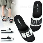 AnnaKastle New Womens New York Platform Slides Sandals US 5 6 7 8
