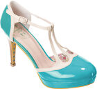 Dancing Days BETTY Vintage 40s T-Strap Pin Up Pumps HIGH HEELS Rockabilly